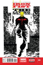 Portada Iron Fist: The Living Weapon #4