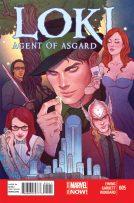 Portada Loki: Agent of Asgard #5