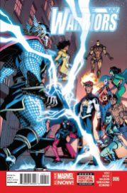 Portada New Warriors #6