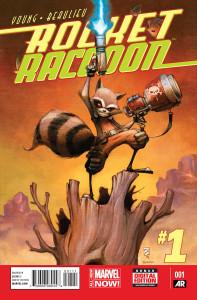 Portada Rocket Raccoon #1