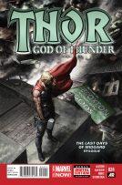 Portada Thor: God of Thunder #24