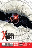 Portada Uncanny X-Men #22
