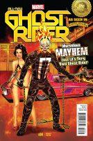 Portada alternativa All-New Ghost Rider #4