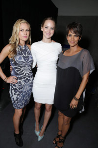 Anna Paquin, Jennifer Lawrence y Halle Berry