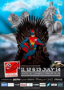 Cartel de la Wizard Con