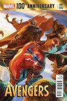 100th Anniversary Avengers 1 Portada altenativa