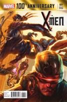 100th Anniversary Special - X-Men - Portada alternativa