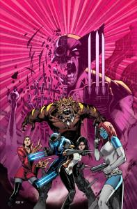 Ilustración de la portada de Death of Wolverine. The Logan Legacy 1