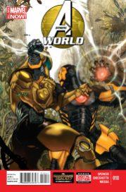 Portada Avengers World #10
