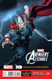 Portada Marvel Universe Avengers Assemble #10
