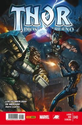 Thor: Dios del Trueno 40 (Panini)