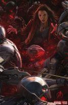 La Bruja Escarlata en una imagen promocional de Los Vengadores: La era de Ultrón