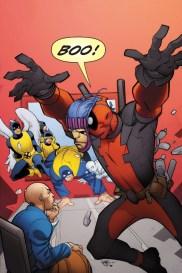 Dibujo de Pasqual Ferry par ala portada alternativa de All New X-Men 33