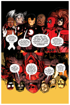 Portada alternativa de Zdarsky para Avengers & X-Men: AXIS 1