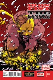 Iron Fist The Living Weapon 5 - Portada