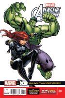 Portada Marvel Universe Avengers Assemble #11