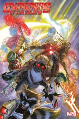 Póster de Los Guardianes de la Galaxia de Alex Ross.