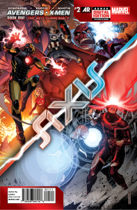 Avengers & X-Men: AXIS #2 Cover