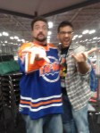 Kevin Smith y Salva Espín