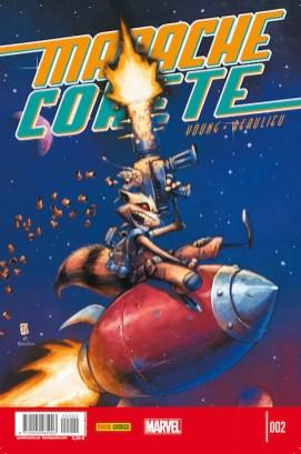 Mapache Cohete 2 (Panini)
