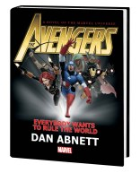 AVENGERS: EVERYBODY WANTS TO RULE THE WORLD PROSE NOVEL HC