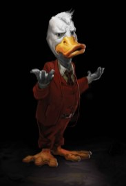 HOWARD THE DUCK #1 portada de la película