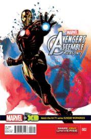 Marvel Universe Avengers Assemble Season 2 #2 1
