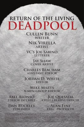 Return Of The Living Deadpool #1 3