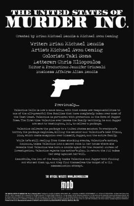 United States of Murder Inc. #6 3