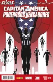 Capitán América y los Poderosos Vengadores 15 (Panini)