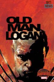 OLD MAN LOGAN #1 Portada de Andrea Sorrentino