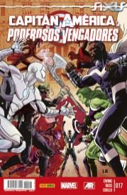 Capitán América y los Poderosos Vengadores 17 (Panini)