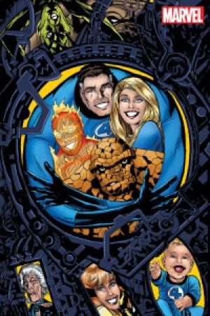 Fantastic Four #645, portada alternativa a cargo de Michael Golden