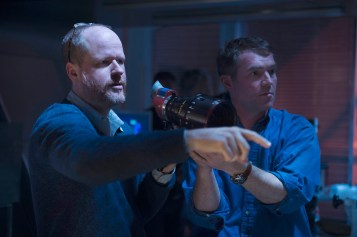 Marvel's Avengers: Age Of Ultron Director Joss Whedon on set Ph: Jay Maidment ©Marvel 2015