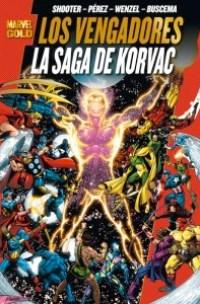 Marvel Gold. Los Vengadores: La saga de Korvac