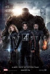 poster de personajes - cuatro fantasticos - v