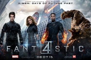 poster de personajes - cuatro fantasticos