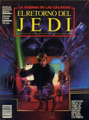 El Retorno del Jedi, en versión Forum. Aquello ya era otra cosa... y no lo decimos sólo por la portada de Bill Sienkiewicz.