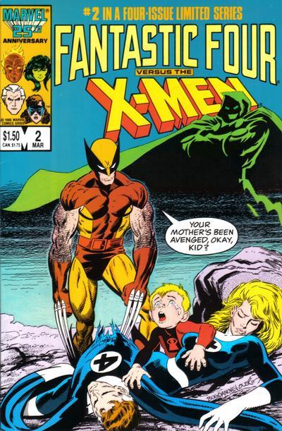 Fantastic Four vs X-Men