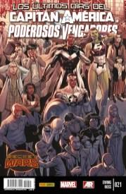 Capitán América y los Poderosos Vengadores 21 (Panini)