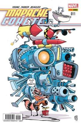 Mapache Cohete 11 (Panini)