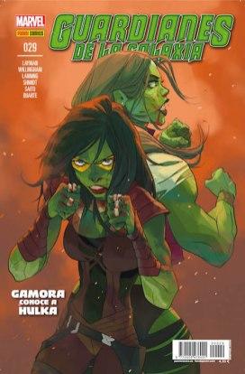 Guardianes de la Galaxia v2, 29 (Panini)