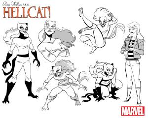 Patsy_Walker_aka_Hellcat_Williams_Character_Designs
