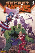 Secret Wars 4 (Portada Alternativa) (Panini)