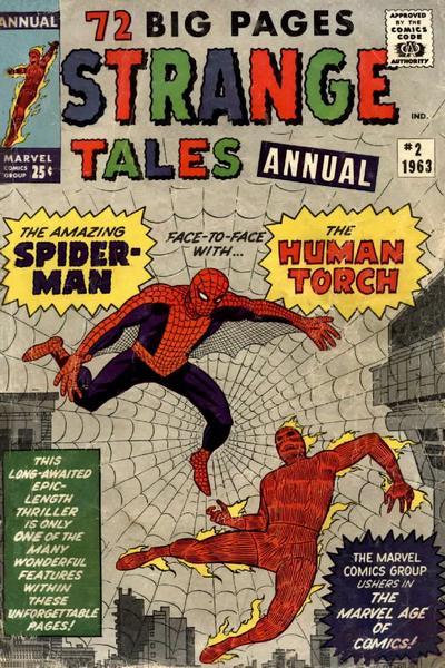 Strange Tales Annual