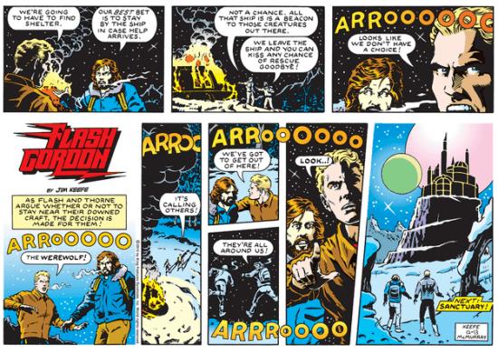 Flash Gordon Comic Strip for December 13, 2015 _ Comics Kingdom