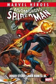 Marvel Héroes 69. El asombroso Spiderman de Roger Stern y John Romita Jr. - Edición Definitiva (Panini)