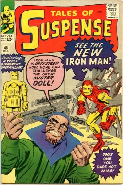 """El villano de esta historia se iba a denominar Mister Pain y, de hecho, así figuraba en el diseño original de la cubierta. Sin embargo, el Comics Code puso objeciones argumentando que eso de """"pain"""" (dolor) tenía connotaciones """"demasiado violentas"""", lo que obligaría a rebautizarlo con el nombre de Mister Doll (Mister Muñeco)."""