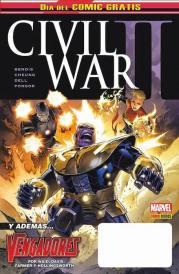Día del cómic Gratis. Civil War II