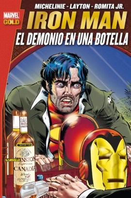 Marvel Gold. Iron Man: El demonio en una botella (2ª Edición) (Panini)